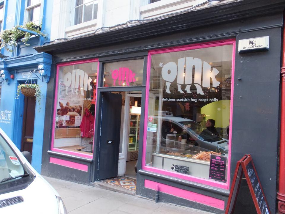 Oink, Victoria Street shop in Edinburgh
